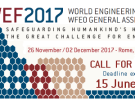 WFEO 2017 – Call for Papers